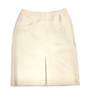 The Limited Classic Stretch Pencil Skirt Cream
